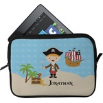 Pirate Scene Tablet Case / Sleeve (Personalized)