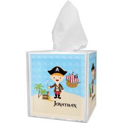 Pirate Scene Tissue Box Cover (Personalized)