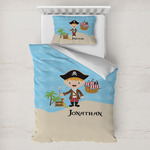Pirate Scene Toddler Bedding w/ Name or Text