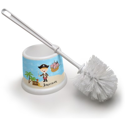 Pirate Scene Toilet Brush (Personalized)