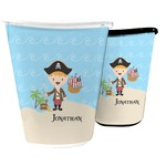 Pirate Scene Waste Basket (Personalized)
