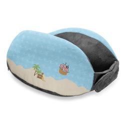 Pirate Scene Travel Neck Pillow (Personalized)