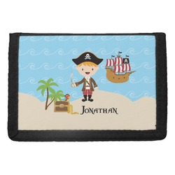Pirate Scene Trifold Wallet (Personalized)
