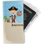Pirate Scene Travel Document Holder
