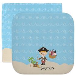Pirate Scene Facecloth / Wash Cloth (Personalized)