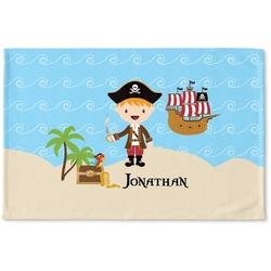 Pirate Scene Woven Mat (Personalized)
