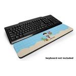 Pirate Scene Keyboard Wrist Rest (Personalized)