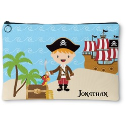 Pirate Scene Zipper Pouch (Personalized)