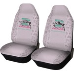 Nursing Quotes Car Seat Covers (Set of Two) (Personalized)