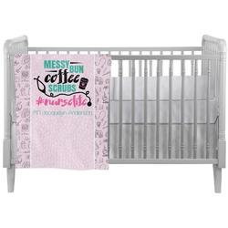 Nursing Quotes Crib Comforter / Quilt (Personalized)