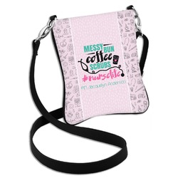 Nursing Quotes Cross Body Bag - 2 Sizes (Personalized)