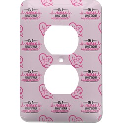 Nursing Quotes Electric Outlet Plate (Personalized)