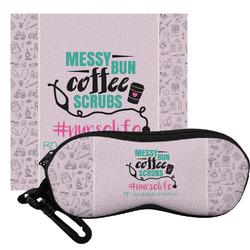 Nursing Quotes Eyeglass Case & Cloth (Personalized)