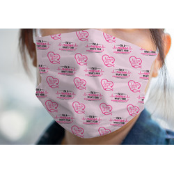 Nursing Quotes Face Mask Cover (Personalized)