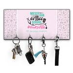 Nursing Quotes Key Hanger w/ 4 Hooks w/ Name or Text