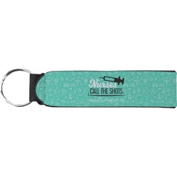 Nursing Quotes Neoprene Keychain Fob (Personalized)