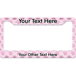 Nursing Quotes License Plate Frame (Personalized)