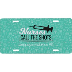 Nursing Quotes Front License Plate (Personalized)