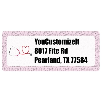 Nursing Quotes Return Address Labels (Personalized)