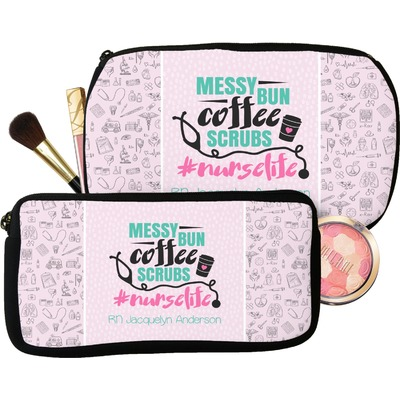 Nursing Quotes Makeup / Cosmetic Bag (Personalized)