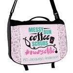 Nursing Quotes Messenger Bag (Personalized)