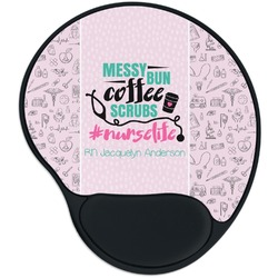 Nursing Quotes Mouse Pad with Wrist Support