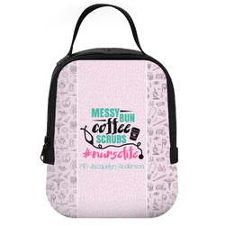 Nursing Quotes Neoprene Lunch Tote (Personalized)