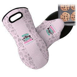 Nursing Quotes Neoprene Oven Mitts w/ Name or Text