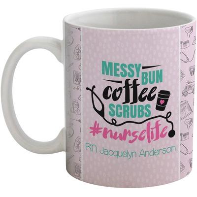 Nursing Quotes Coffee Mug (Personalized)