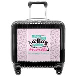 Nursing Quotes Pilot / Flight Suitcase (Personalized)