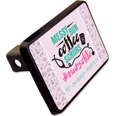 """Nursing Quotes Rectangular Trailer Hitch Cover - 2"""" (Personalized)"""