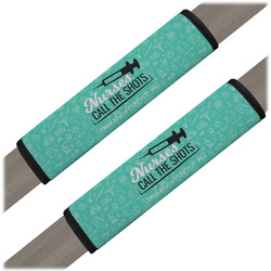 Nursing Quotes Seat Belt Covers (Set of 2) (Personalized)