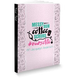 Nursing Quotes Softbound Notebook (Personalized)