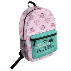 Nursing Quotes Student Backpack (Personalized)