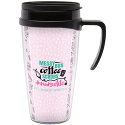 Nursing Quotes Travel Mug with Handle (Personalized)