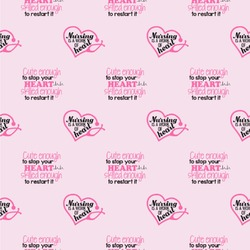 """Nursing Quotes Wallpaper & Surface Covering (Peel & Stick 24""""x 24"""" Sample)"""