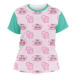 Nursing Quotes Women's Crew T-Shirt (Personalized)
