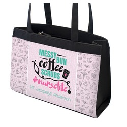 Nursing Quotes Zippered Everyday Tote (Personalized)