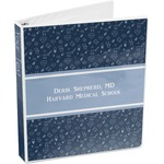 Medical Doctor 3-Ring Binder (Personalized)