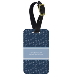 Medical Doctor Aluminum Luggage Tag (Personalized)