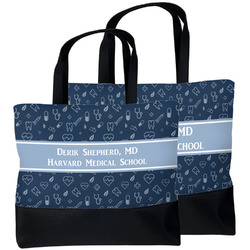 Medical Doctor Beach Tote Bag (Personalized)