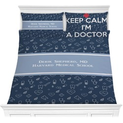 Medical Doctor Comforters (Personalized)