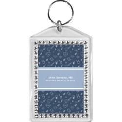 Medical Doctor Bling Keychain (Personalized)