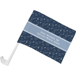 Medical Doctor Car Flag (Personalized)
