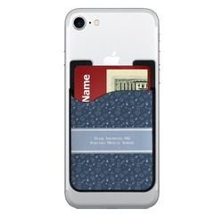Medical Doctor 2-in-1 Cell Phone Credit Card Holder & Screen Cleaner (Personalized)