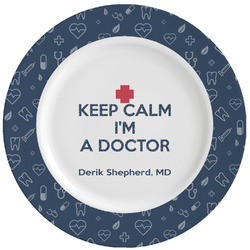 Medical Doctor Ceramic Dinner Plates (Set of 4) (Personalized)