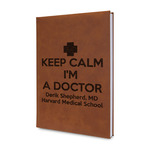 Medical Doctor Leatherette Journal (Personalized)