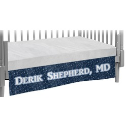 Medical Doctor Crib Skirt (Personalized)