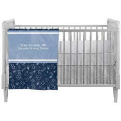 Medical Doctor Crib Comforter / Quilt (Personalized)