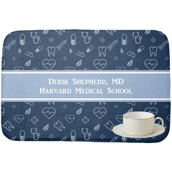 Medical Doctor Dish Drying Mat (Personalized)